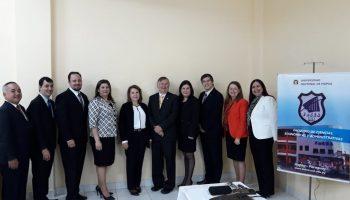 Cuatro Nuevos Magister en Administración Financiera Gubernamental que brillaron por su defensa de Tesis el 26 de mayo del 2018 en la Universidad de Nacional de Itapúa con sede en Encarnación.